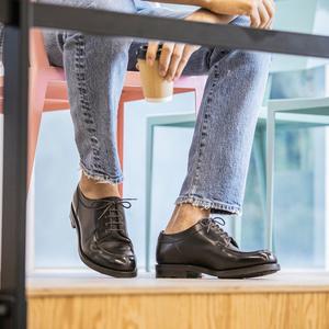 【SANYO Style MAGAZINE】スニーカーだけじゃつまらない!初夏はデニムに短靴で!