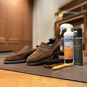 スエード靴の簡単なお手入れ方法