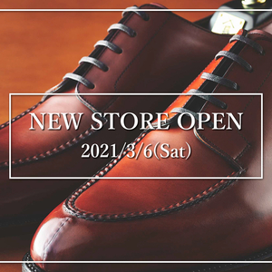 【NEW STORE OPEN】3/6(土)「大丸札幌店」常時お取扱い開始のお知らせ