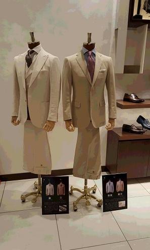 【銀座店】2016 Spring suit collection
