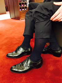 【銀座店】How to make Sanyo yamacho Gentleman 靴下ーホーズ