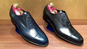 【名古屋松坂屋店】お客様にお作り頂いたパターンオーダーshoesのご紹介♬