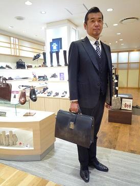 【二子玉川店】ダレスバッグのご紹介