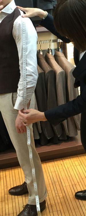 【日本橋三越本店】~パターンオーダー シャツ~