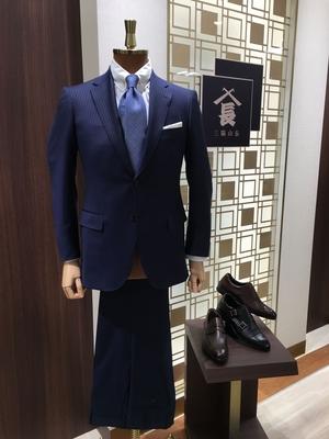 【松坂屋名古屋店】suitとshoesで《14万5千円+税》コーデ