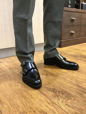 【二子玉川店】お客様の誂え靴 〜源之介〜