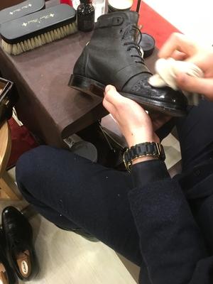 【松坂屋名古屋店】本日18時まで開催!コロンブス靴磨き体験会