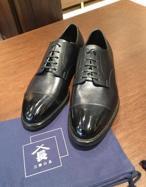 【銀座店】お客様誂え靴~外羽根ストレートチップ