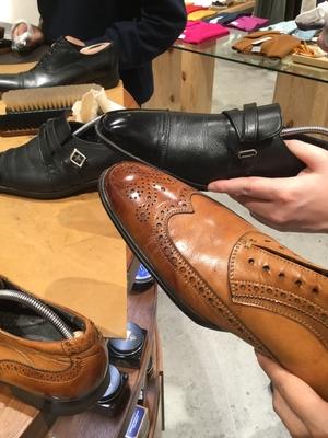 【東京ミッドタウン日比谷店】靴みがきワ-クショップ