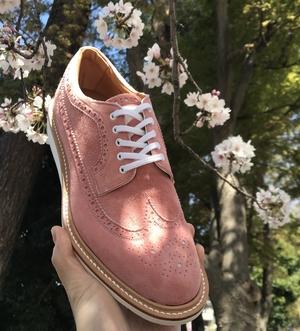 【二子玉川店】桜色のレディースシューズ
