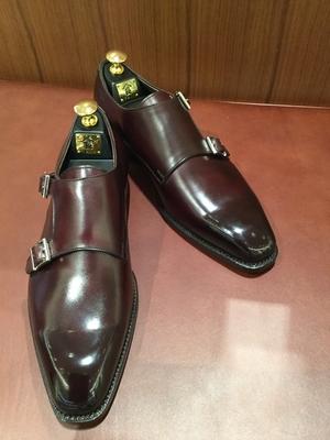 【東京ミッドタウン日比谷店】お客様誂え靴~源之介 ~其の一