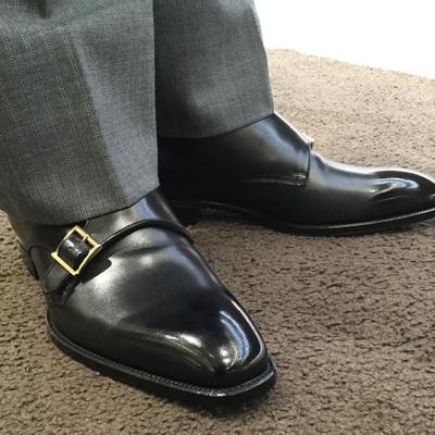 【東京ミッドタウン日比谷店】お客様誂え靴~源之介~其の二