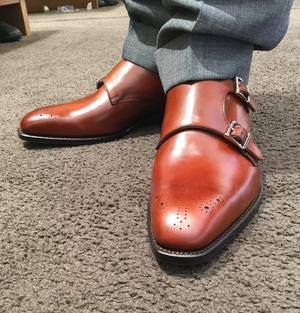 【東京ミッドタウン日比谷店】お客様誂え靴~源之介~其の三