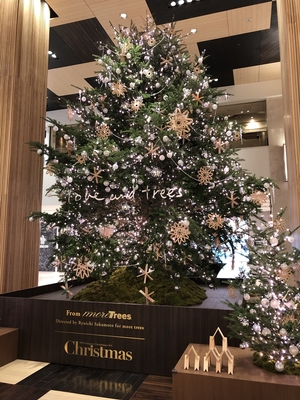 【二子玉川店】心が暖まるクリスマスツリー