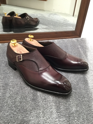【東京ミッドタウン日比谷店】お客様誂え靴~帯之介~