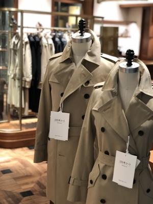 【ミッドランドスクエア店】100年coat × 三陽山長
