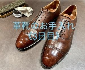 【日本橋髙島屋S.C.店】そうだ、靴のお手入れをしよう。《鏡面磨き編》
