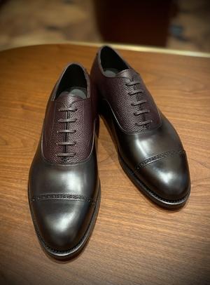 【ミッドランドスクエア店】お客様オーダー靴のご紹介!