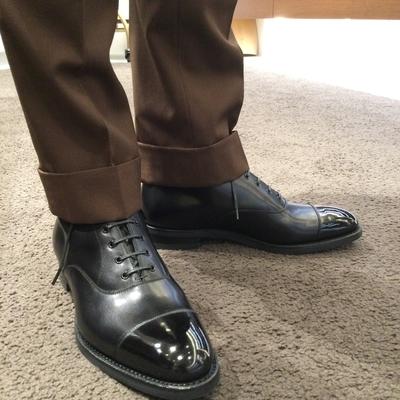 【東京ミッドタウン日比谷店】お客様誂え靴~長二郎~